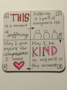 steps to practice self-compassion
