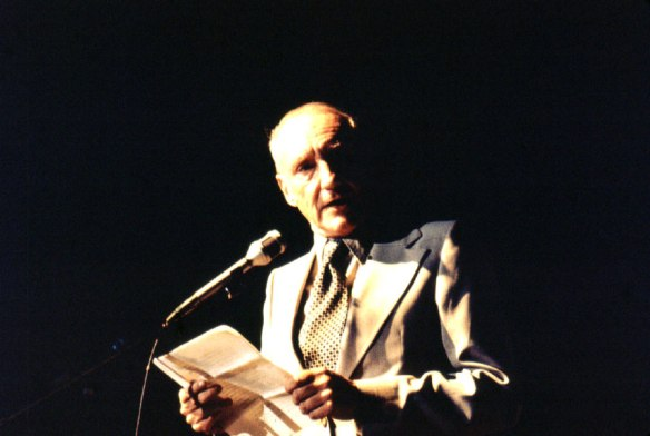 William S. Burroughs reading