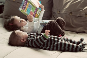 Make them readers when they are young and have no will to resist.